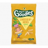 Organic Multipack Cheese & Herb Puffs 4s