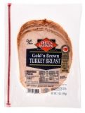 Golden Brown Turkey Breast Slices
