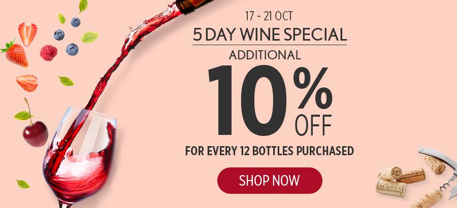 Wine Fair Specials