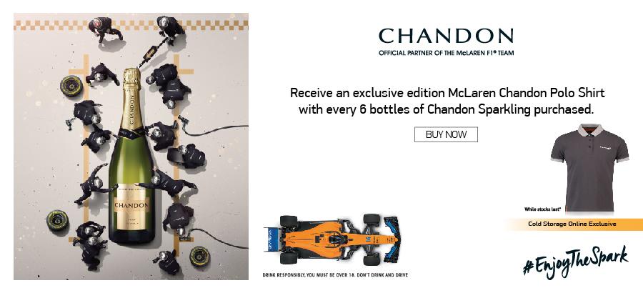 Chandon F1 Brand Promo