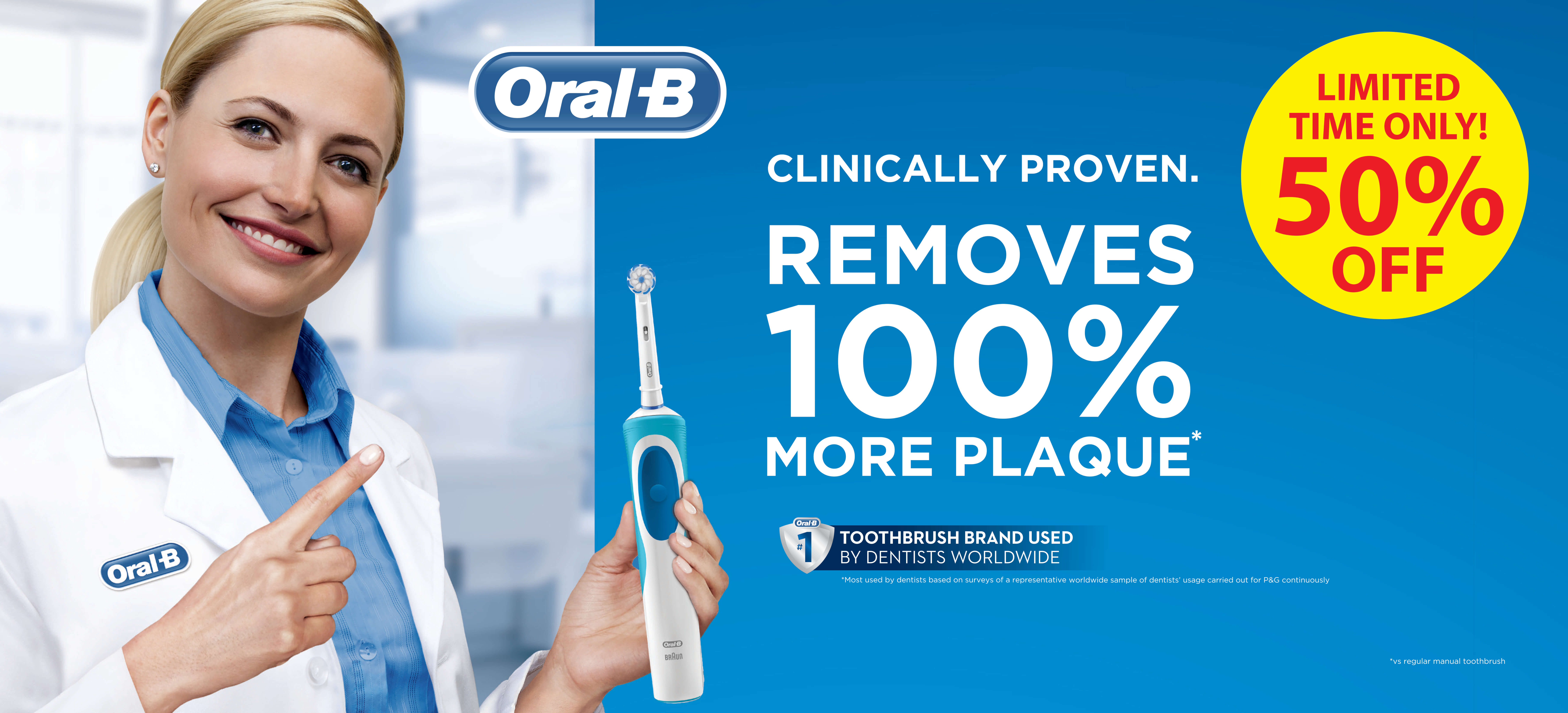 Oral B Promotion