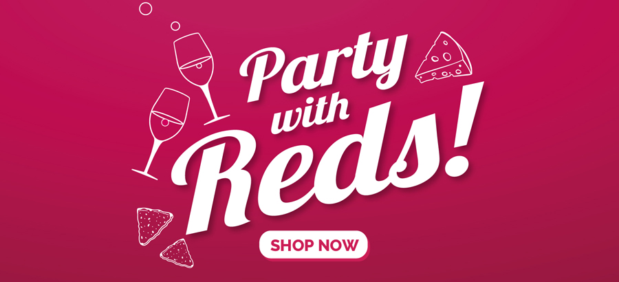 Party with red promotion