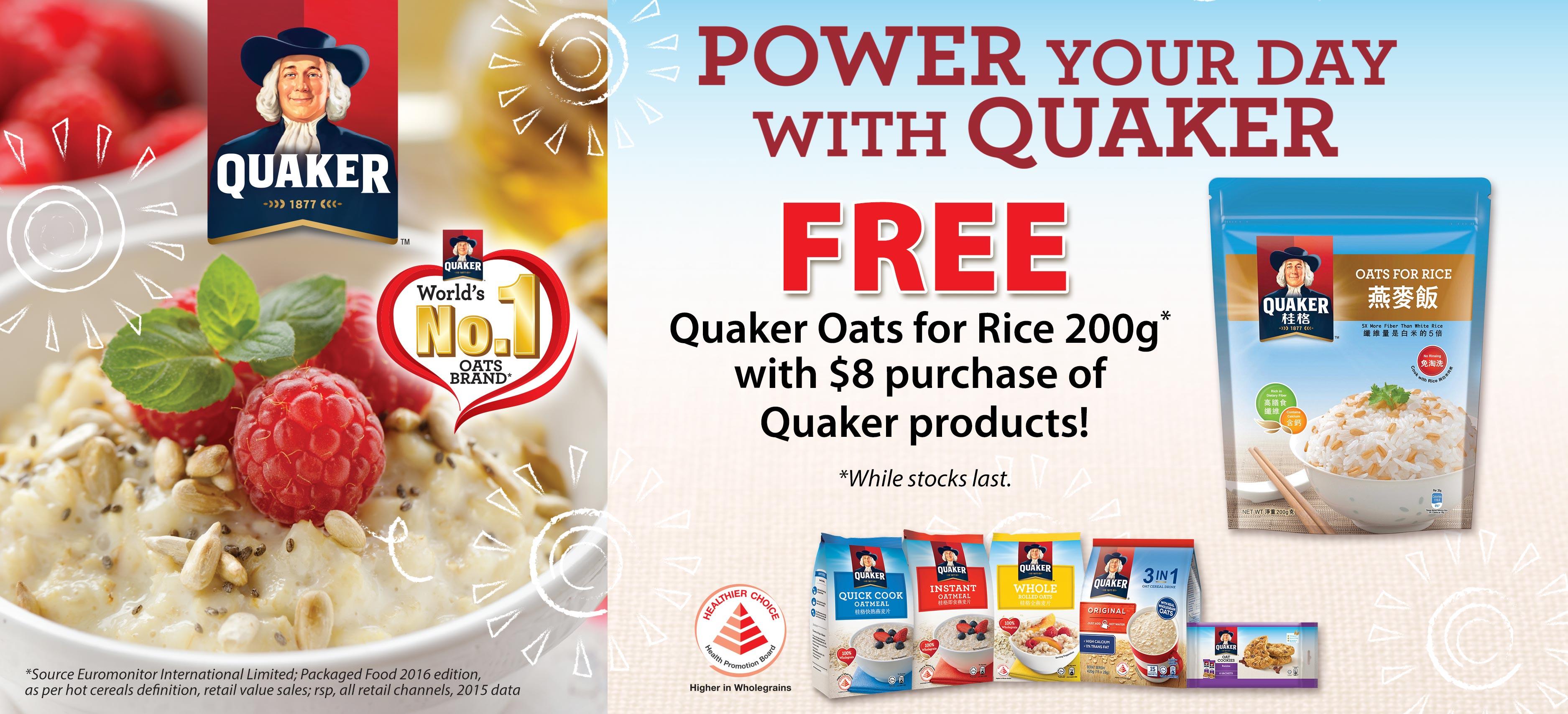 Quaker Promotion