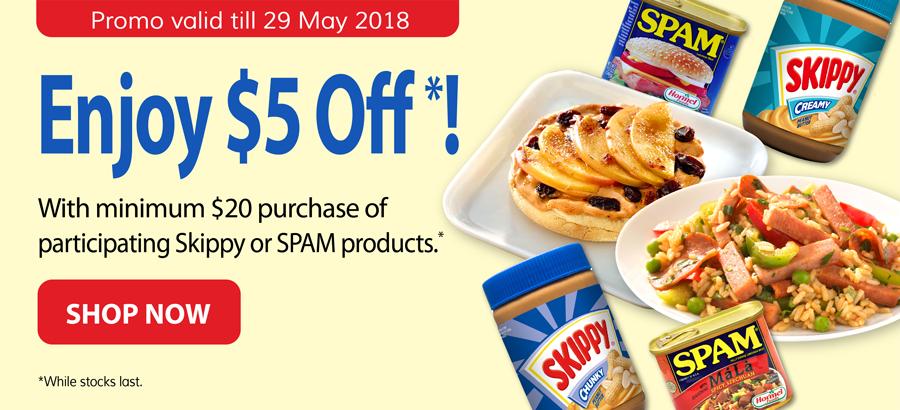 Skippy & SPAM Brand Promo