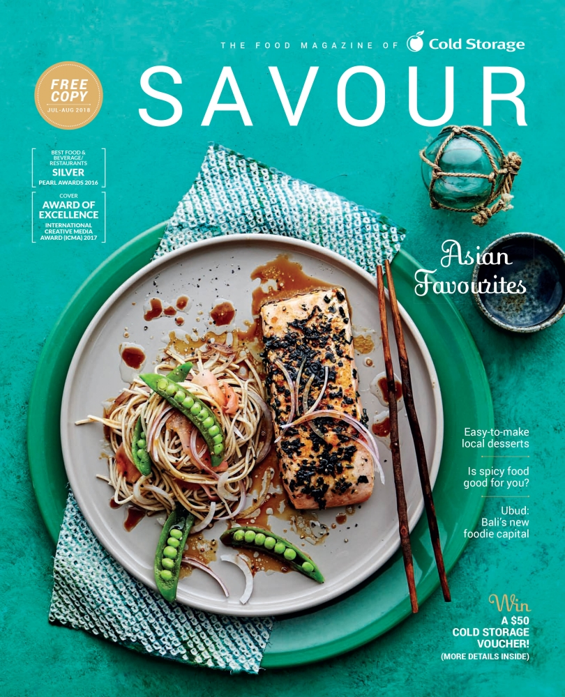 Savour Magazine July/August 2018 Issue