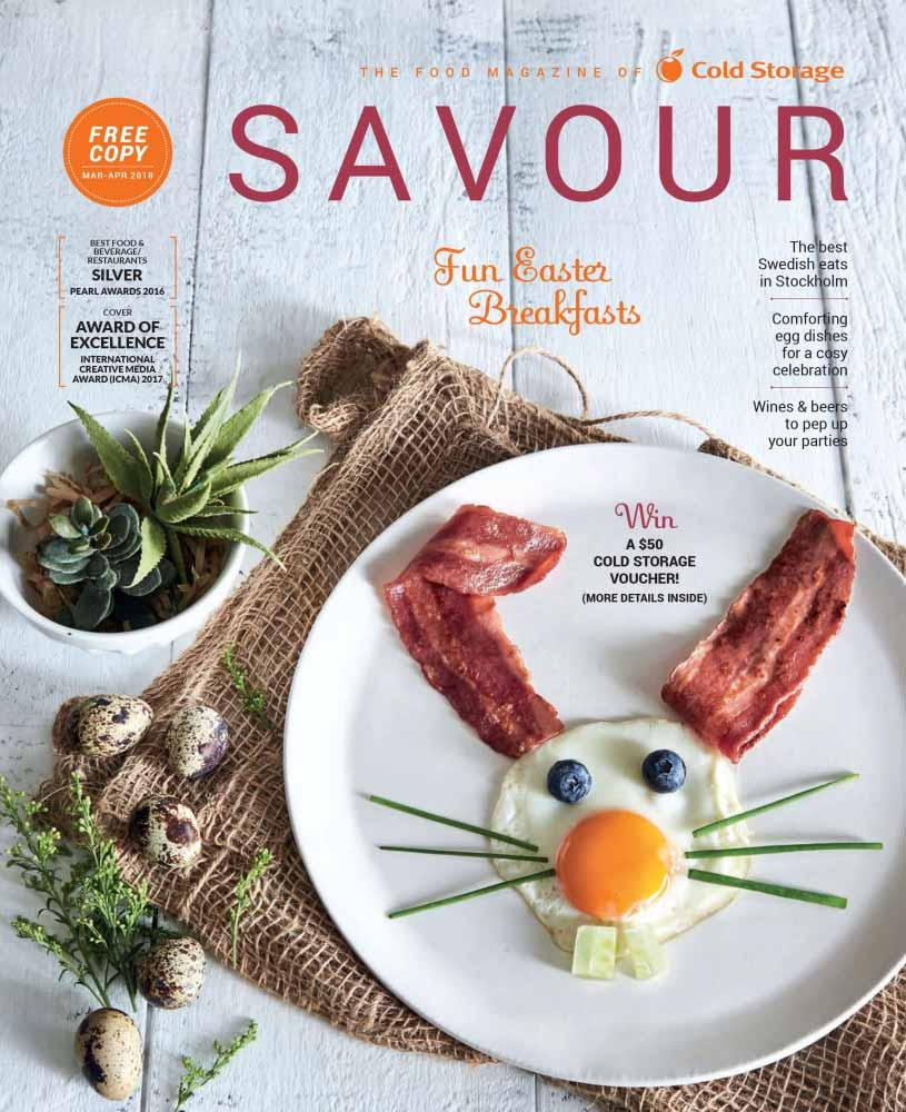 Savour Magazine March/April 2018 Issue
