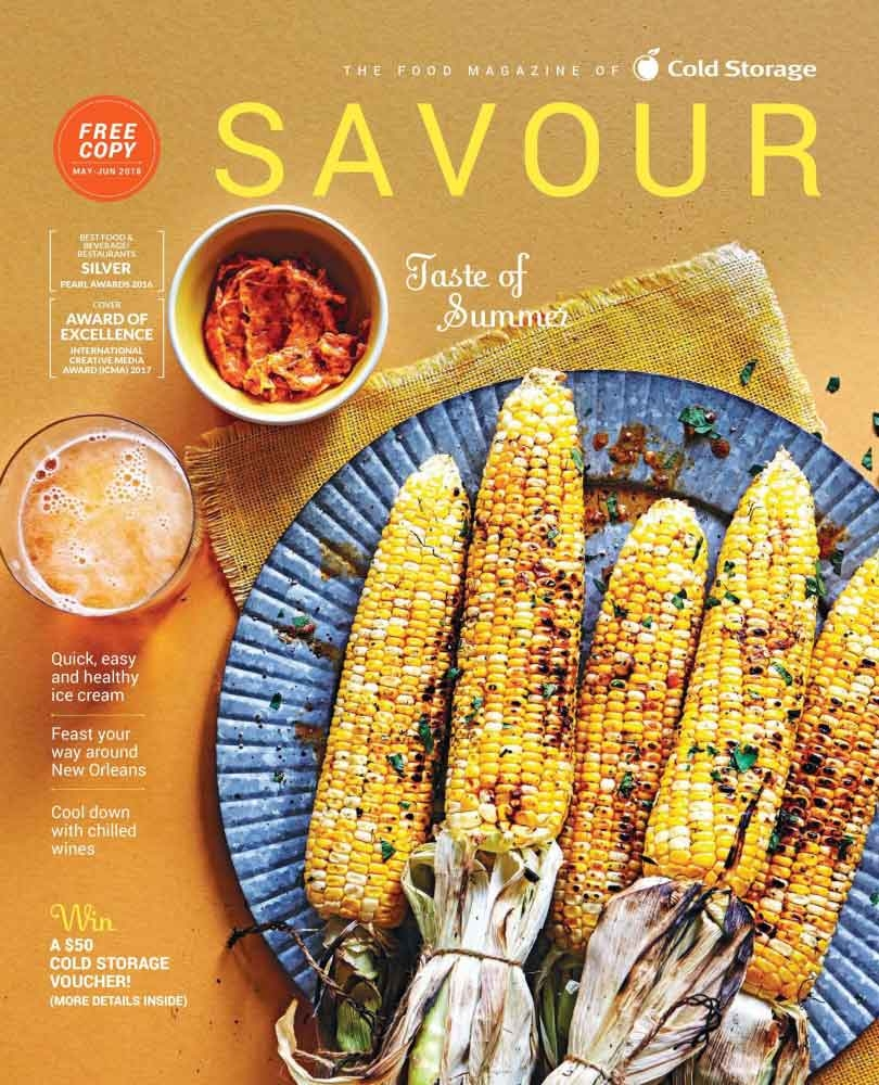 Savour Magazine May/Jun 2018 Issue