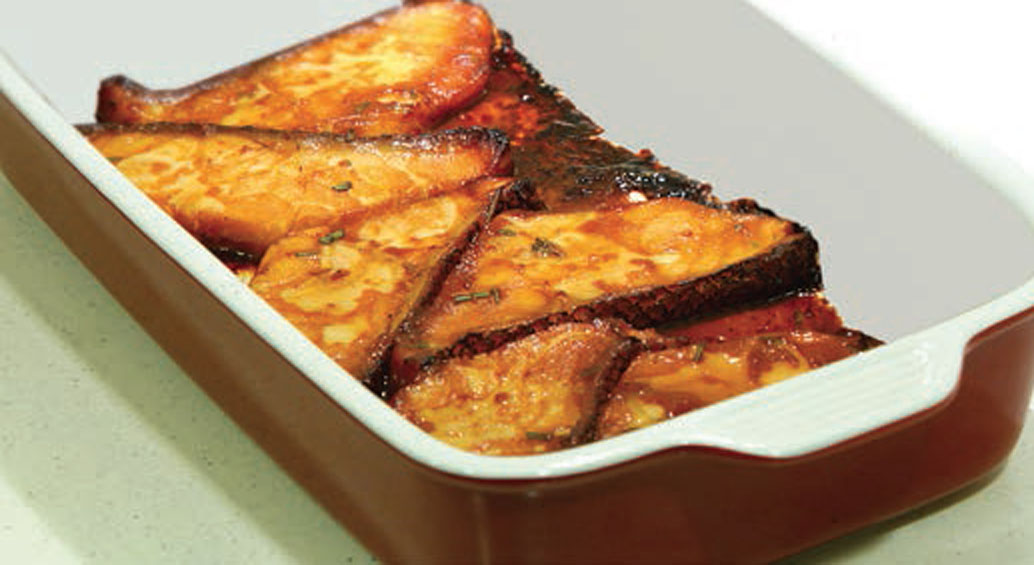 Recipes for Miso sauce for fish