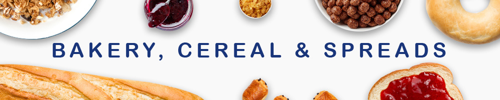 Bakery, Cereal & Spreads