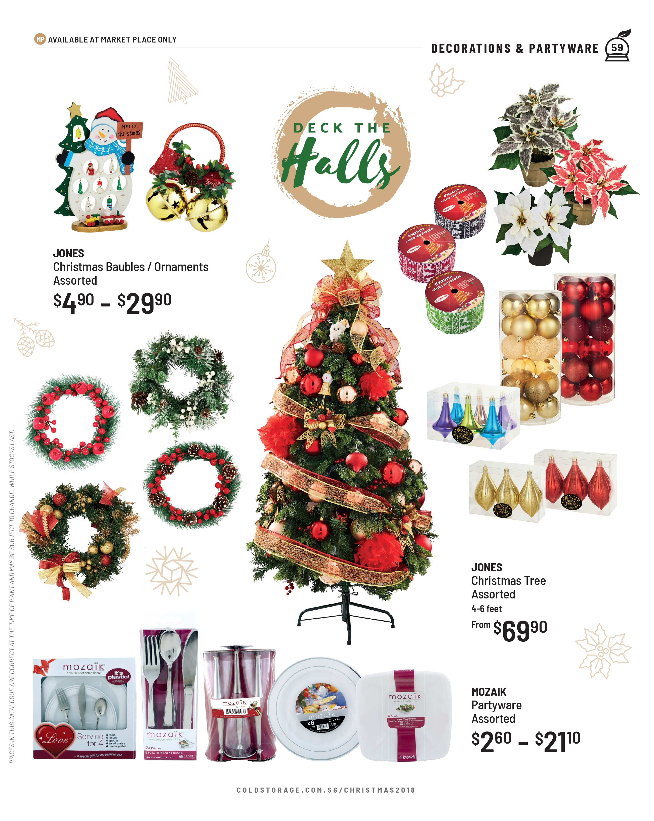 Cold Storage Christmas | Food & Gift Guide