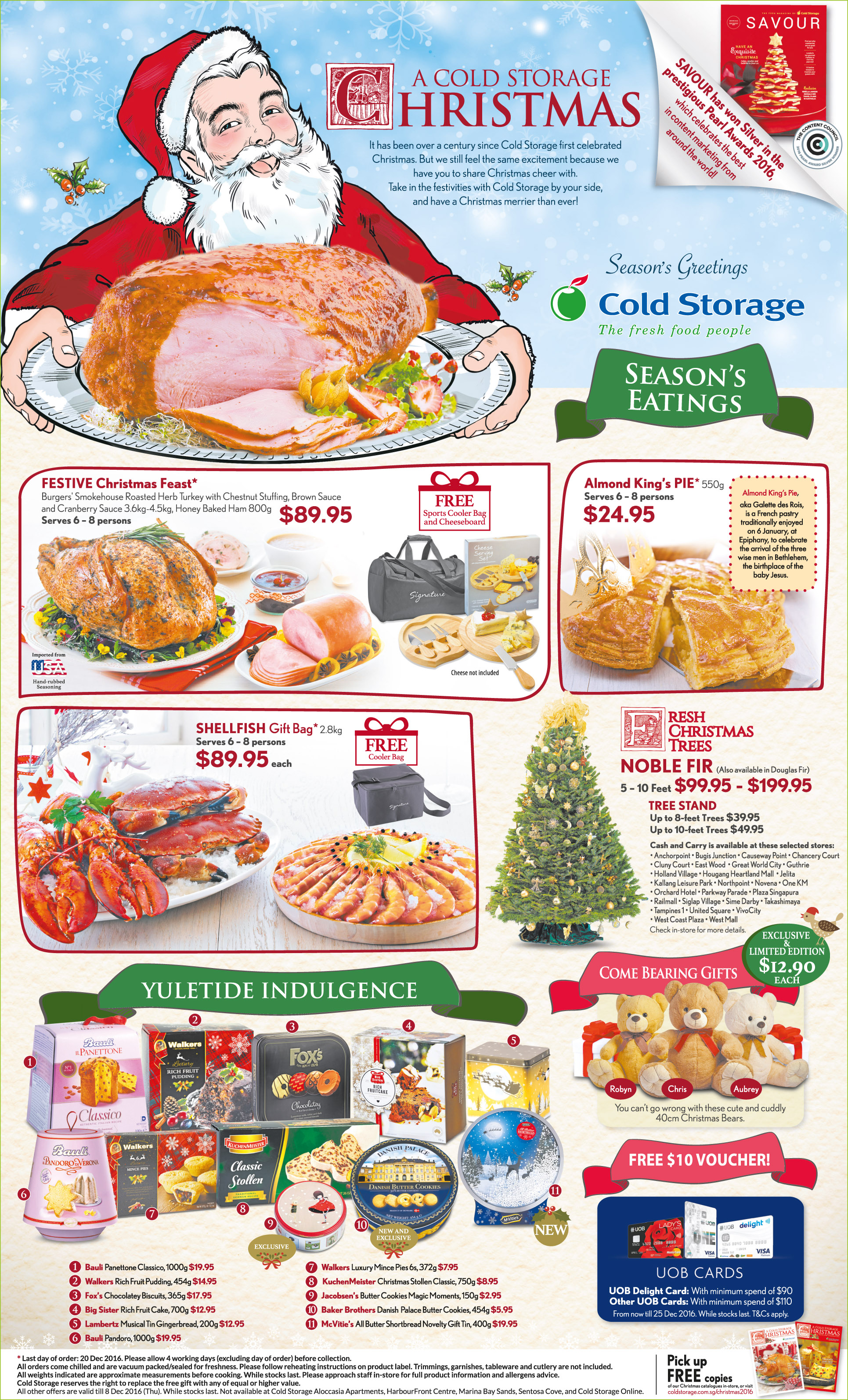 Christmas Order Programme – Yuletide Indulgence (Till 8 Dec)
